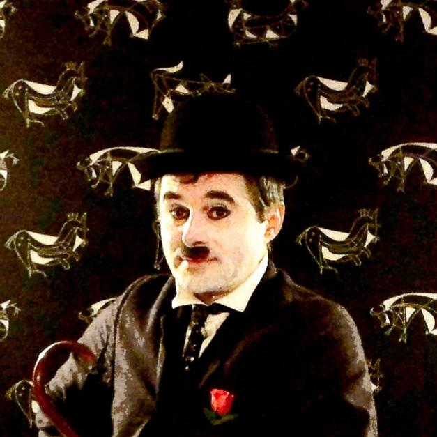 Malkhaz Abuladze als Charlie Chaplin